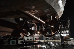Operating controllable pitch propellers (CPP) in Kort